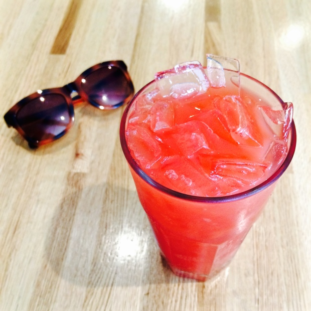 Watermelon Agua Fresca from The Penny Cluse in Burlington, Vermont, Instagrammed to death.