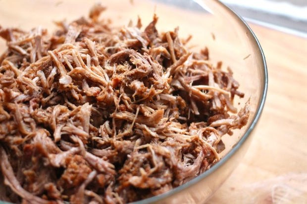 slow cooker carolina style pulled pork