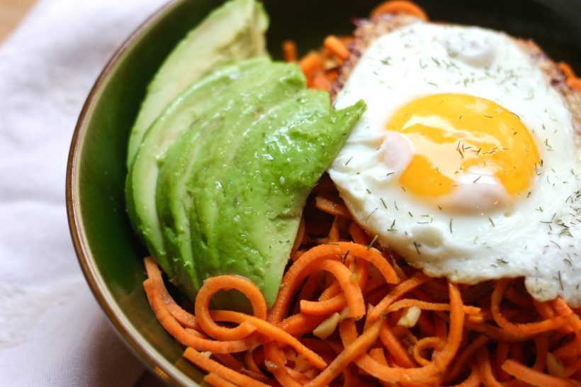 sweet potato noodles