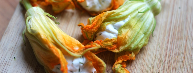 ricotta stuffed squash blossoms