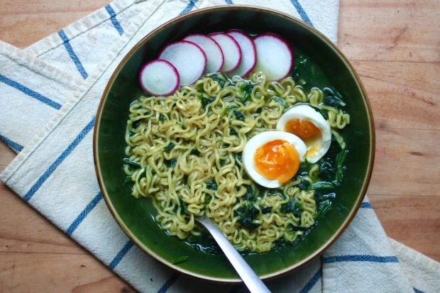 curried vegetable ramen