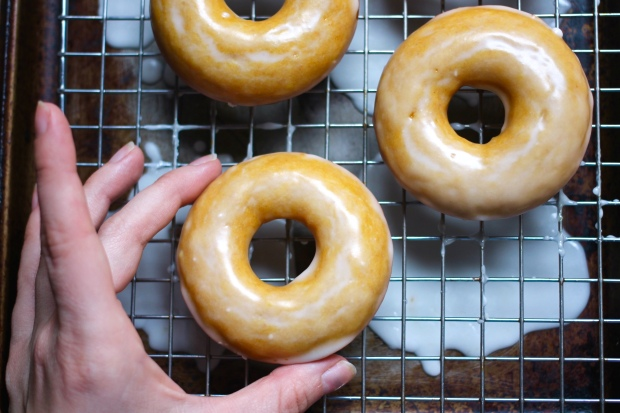 golden milk baked donuts