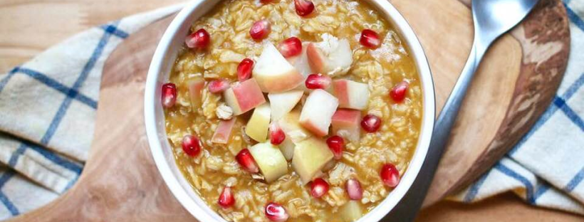 apple pumpkin oatmeal