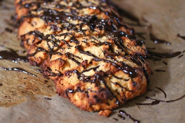 grain free cranberry almond biscotti