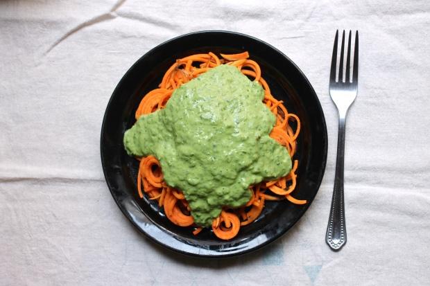 avocado kale sauce