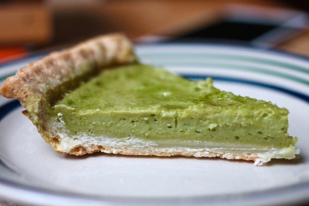 matcha custard pie four and twenty blackbirds recipe
