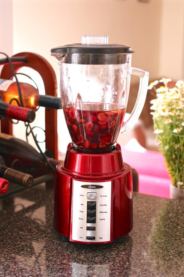 cherry agua fresca