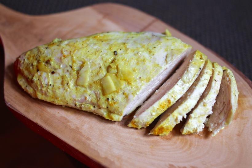 Baked Chicken with Artichoke, Lemon, & Zucchini