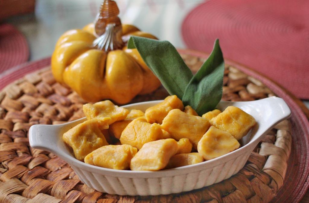 Pumpkin Ricotta Gnocchi