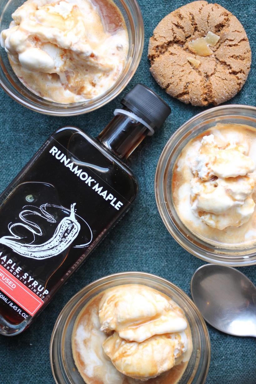 Smoked Chili Maple Affogato