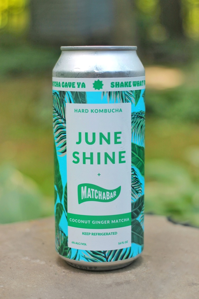 Coconut Ginger Matcha Hard Kombucha by June Shine x Matchabar