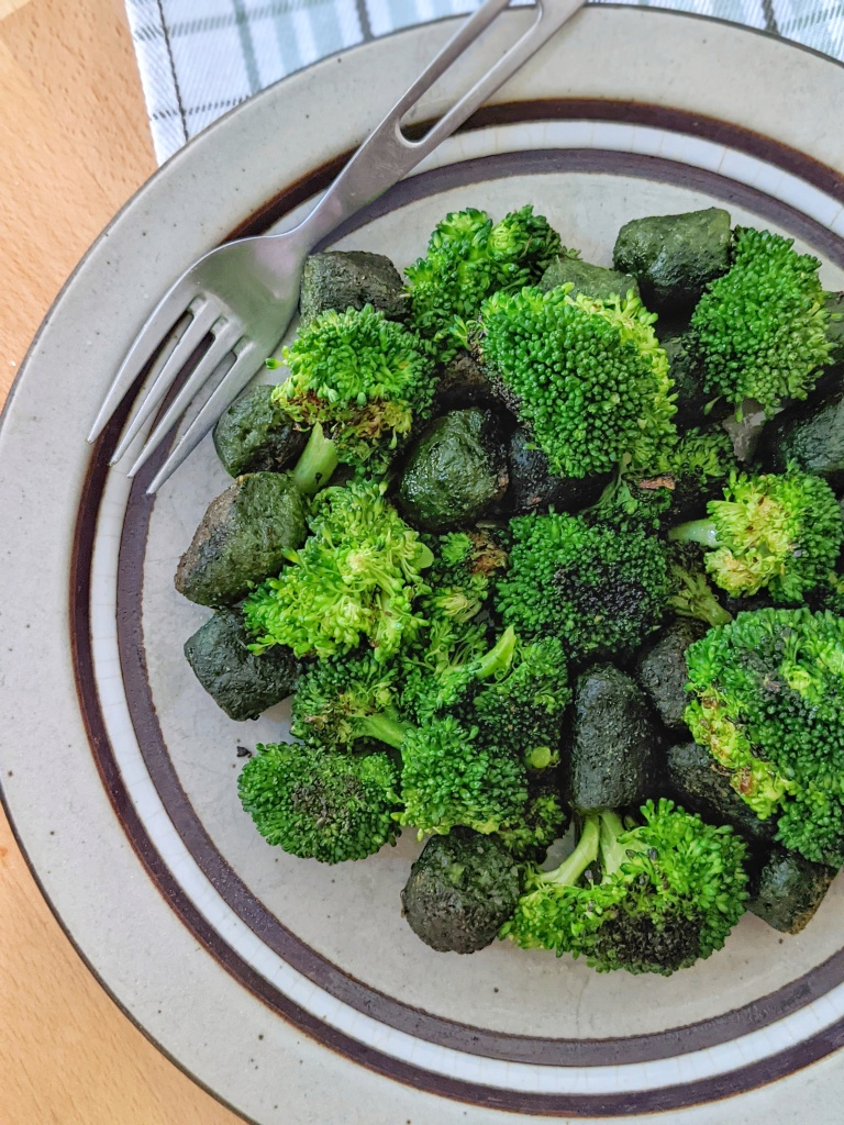 Trader Joe's Kale Gnocchi & Satueed Broccoli